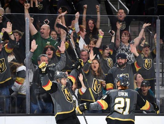 USP NHL: SAN JOSE SHARKS AT VEGAS GOLDEN KNIGHTS S HKN VGK SJS USA NV