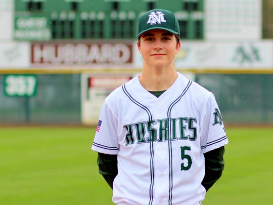 North Marion junior Andy Schmitz