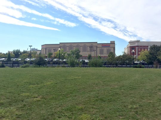 The plot of land at the edge of the Port Chester marina area where Colony Grill is slated to open.