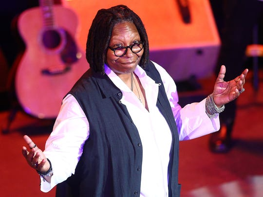 Comedian  Whoopi Goldberg hosted the 10th Anniversary Induction Ceremony of the New Jersey Hall of Fame at the Paramount Theater in Convention Hall, Asbury Park. May 6, 2018. Asbury Park, NJ  May 6, 2018. Asbury Park, NJ