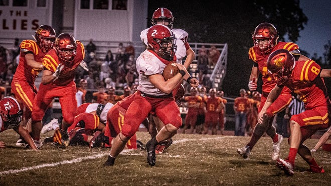 Zach Wittenberg ran for 200 yards or more in three games as the senior is your offensive MVP.