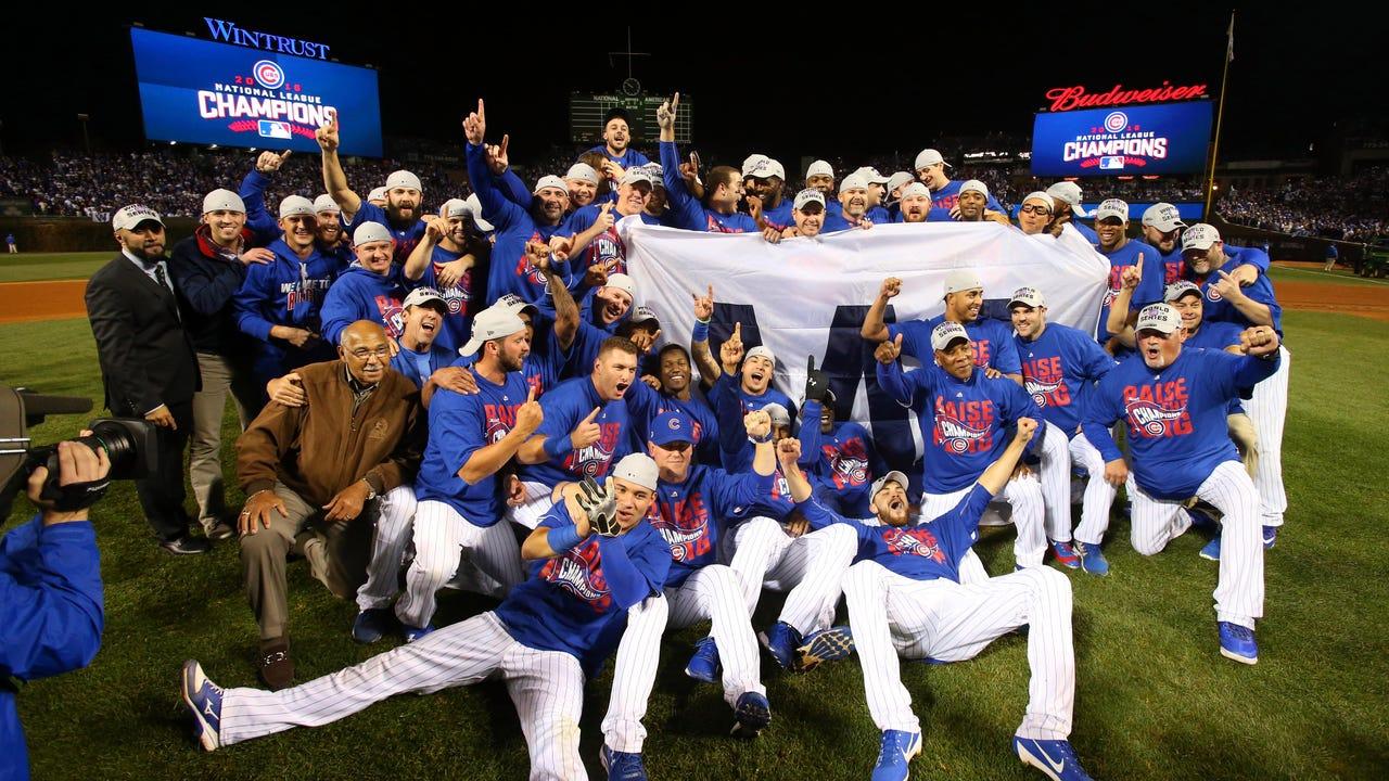 Cubs beat Dodgers to reach first World Series since 1945