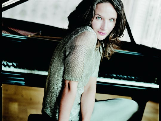 French pianist Helene Grimaud.
