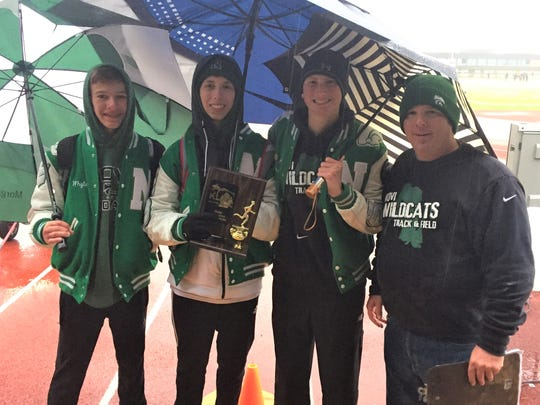 Novi collected the KLAA Gold Division trophy after going 6-0 in dual meets. The Wildcats took third Friday in the KLAA championships at Canton.