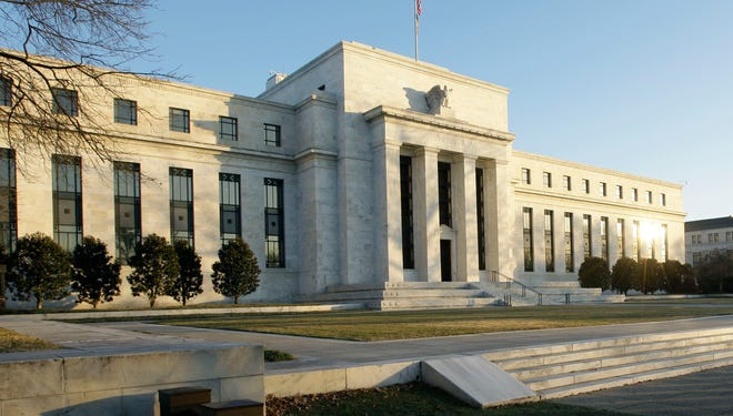 The Federal Reserve building in Washington DC.