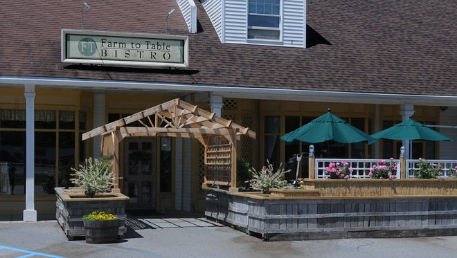 The Farm to Table Bistro is on Route 9 in Fishkill.