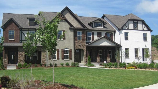 Goodall Homes offers townhomes in the Shadow Green subdivision from $258,990.