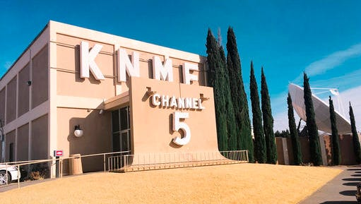 This Wednesday, Dec. 14, 2016, photo, shows the KNME-TV television station, a PBS affiliate in Albuquerque, N.M. A California-based television network dedicated to Native Americans has arrived in the Albuquerque area, New Mexico PBS announced Wednesday. New Mexico PBS said First Nations Experience now is live on KNME-TV, HD Channel 5.3, in the Albuquerque market, and features programs focusing on Native American and indigenous people around the world.