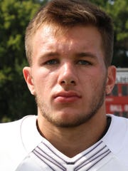 Gibsonburg's Addison Weaver rushed for one touchdown and threw two scoring passes against Tiffin Calvert last season.