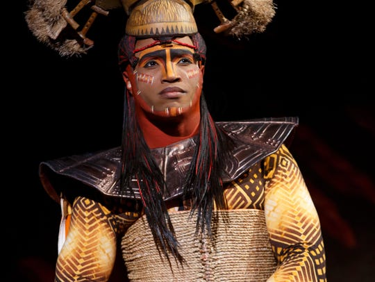 "L. Steven Taylor stars as Mustafa in ""The Lion King"""