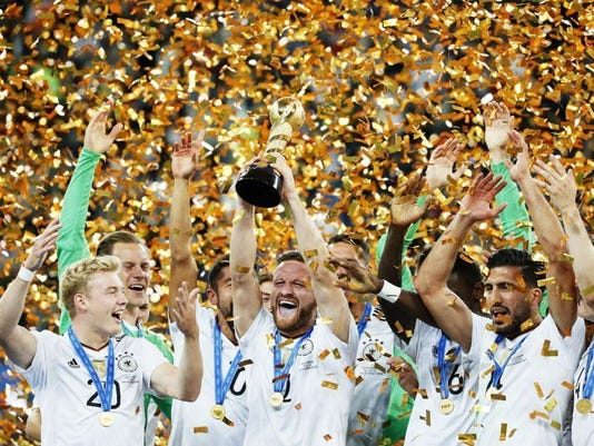 EPA EPASELECT RUSSIA SOCCER FIFA CONFEDERATIONS CUP 2017 SPO SOCCER RUS