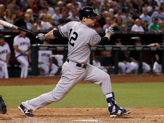 New York Yankees third baseman Chase Headley played at Tennessee.