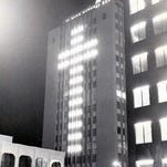 Blue Flame, first lit in 1955, will light up Downtown El Paso skyline again