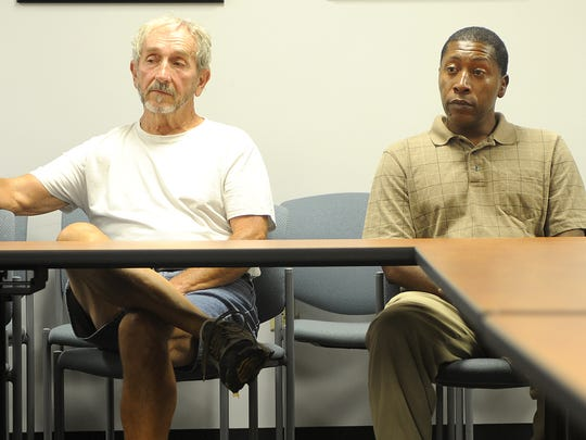 Cliff Crose and Chauncey Bragg Sr. debate issues prior