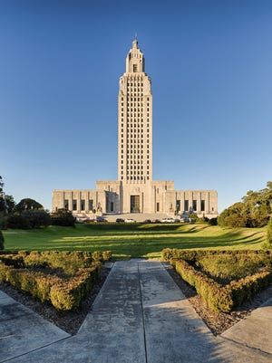 Getty Images The swearing-in ceremony for John Bel Edwards will be held in the general admission area at the Capitol Complex. Louisiana State Capitol