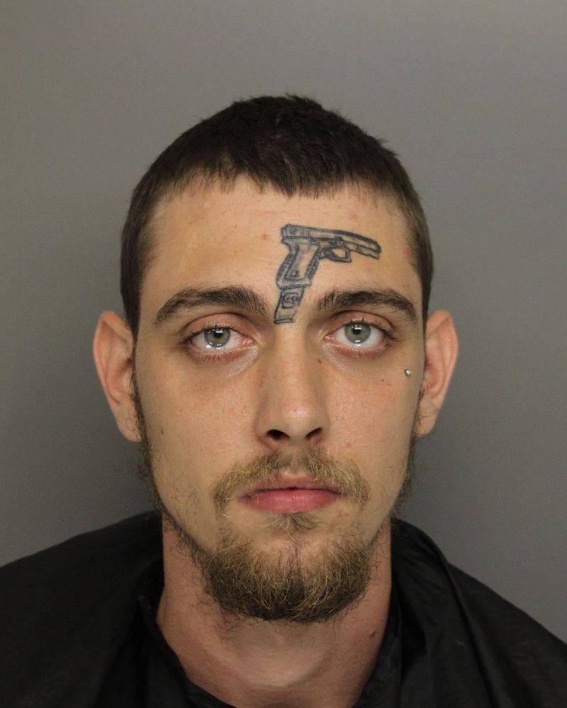 Tattooed face