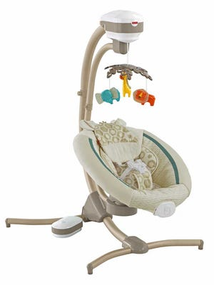 Cradle 'n Swings is being recalled by Fisher-Price.