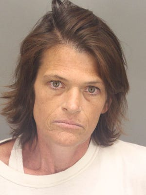 Kelly Lee Phillips is accused of killing Chandra Saras in Desert Hot Springs. Phillips was arraigned in Riverside County Superior Court Tuesday.
