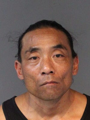 James Hotta, 52, was arrested for burglary, possession of a controlled substance, ex-felon failing to register and driving without a license or registration.