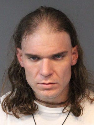 Justin Waters, 30, was booked Jan. 18, 2017 into the Washoe County jail for allegedly resisting a public officer with a firearm and possessing a controlled substance. He could face more charges, No bail was set.
