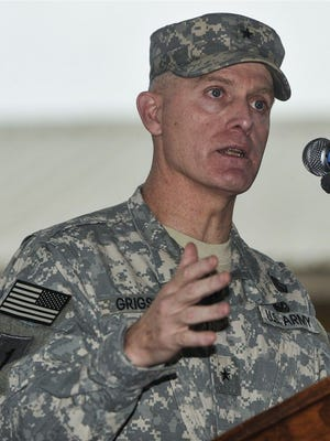 Wayne Grigsby as a brigadier general, the rank at which he will retire following disciplinary action by the Army.