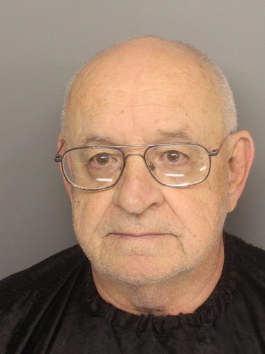 Phillip Walter Beamish, 73, arrested by the Greenville