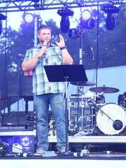 TJ Gillam spoke at Barnfest 2017 held Saturday night