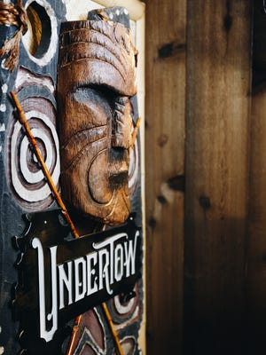 UnderTow is an underground tiki bar in central Phoenix.