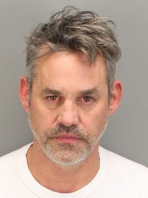 Nicholas Brendon was arrested in Palm Springs on Oct. 11.