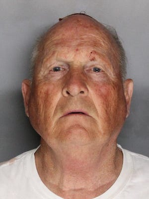 Joseph James DeAngelo, now 74, was arrested in the killing of Lyman and Charlene Smith. The couple was killed March 13, 1980, while they slept in their home on High Point Drive in Ventura.