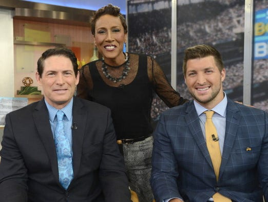 Good Morning America Eagles : Tim tebow tries out for eagles