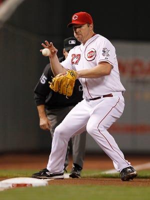 Reds third baseman Scott Rolen in September of 2012.