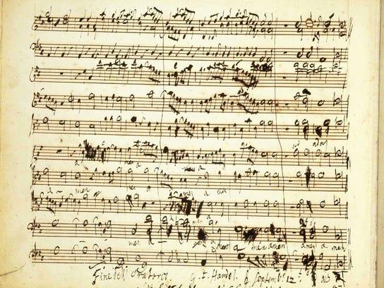 Handel's composition
