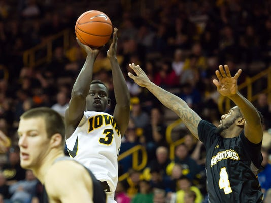 NCAA Basketball: MD Baltimore Cty at Iowa
