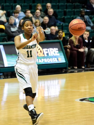 Binghamton beats Vermont during a women's basketball game in the Events Center during the 2014-15 season.