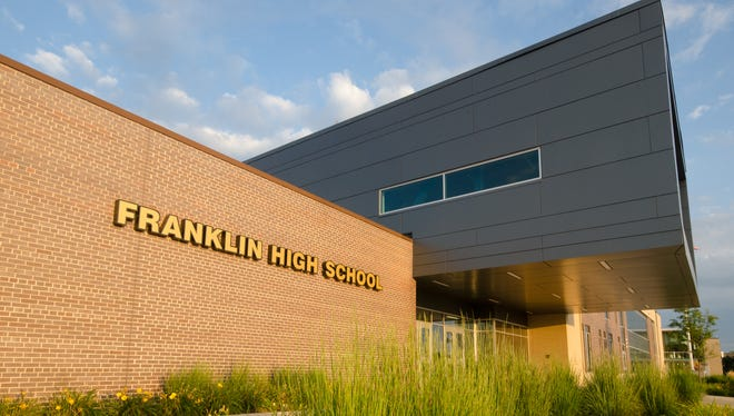 2017 exterior of Franklin High School,  8222 S 51st St.