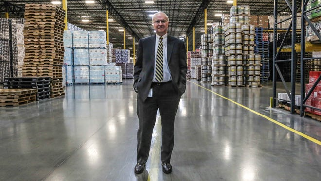 Phil Terry is CEO of Monarch Beverage, which has spent $1 million in legal fees to try to overturn a state law that bans beer distributors such as Monarch from also distributing hard liquor.