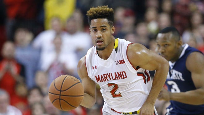 Maryland guard Melo Trimble