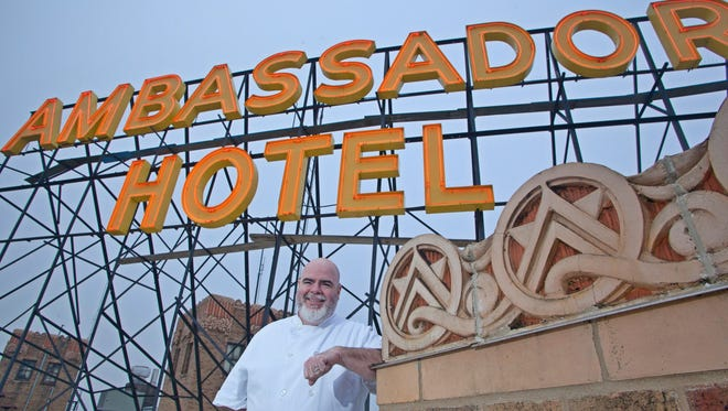 Chef Jason Gorman is guiding changes at the Ambassador Hotel, which is redecorating and renaming its restaurant and bar.