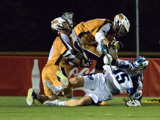 The Rochester Rattlers flattened Ohio twice during