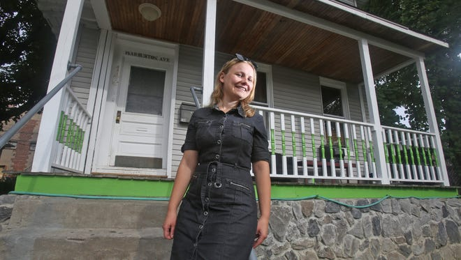 Julia Kushnir bought this multifamily home on Warburton Avenue in Yonkers when she was single. She still owns the house, but is now married, and lives in Nyack.