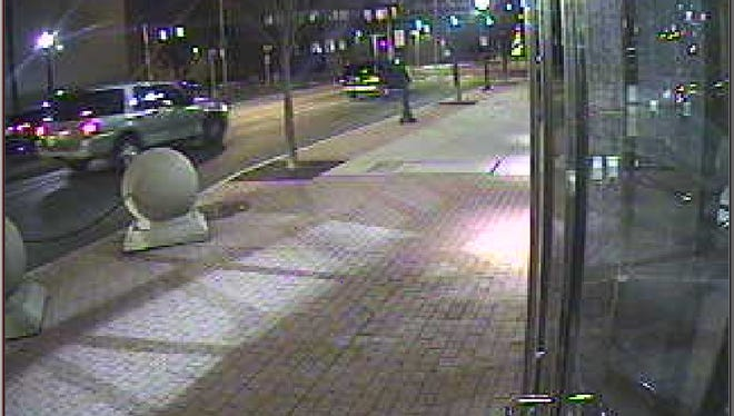 Police are looking for information on this late-model Ford Expedition in relation to a killing on market Street that happened Wednesday.