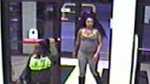 Authorities are seeking these suspects in area larcenies.