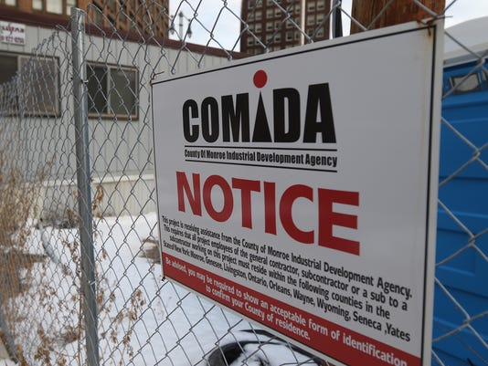 COMIDA sign