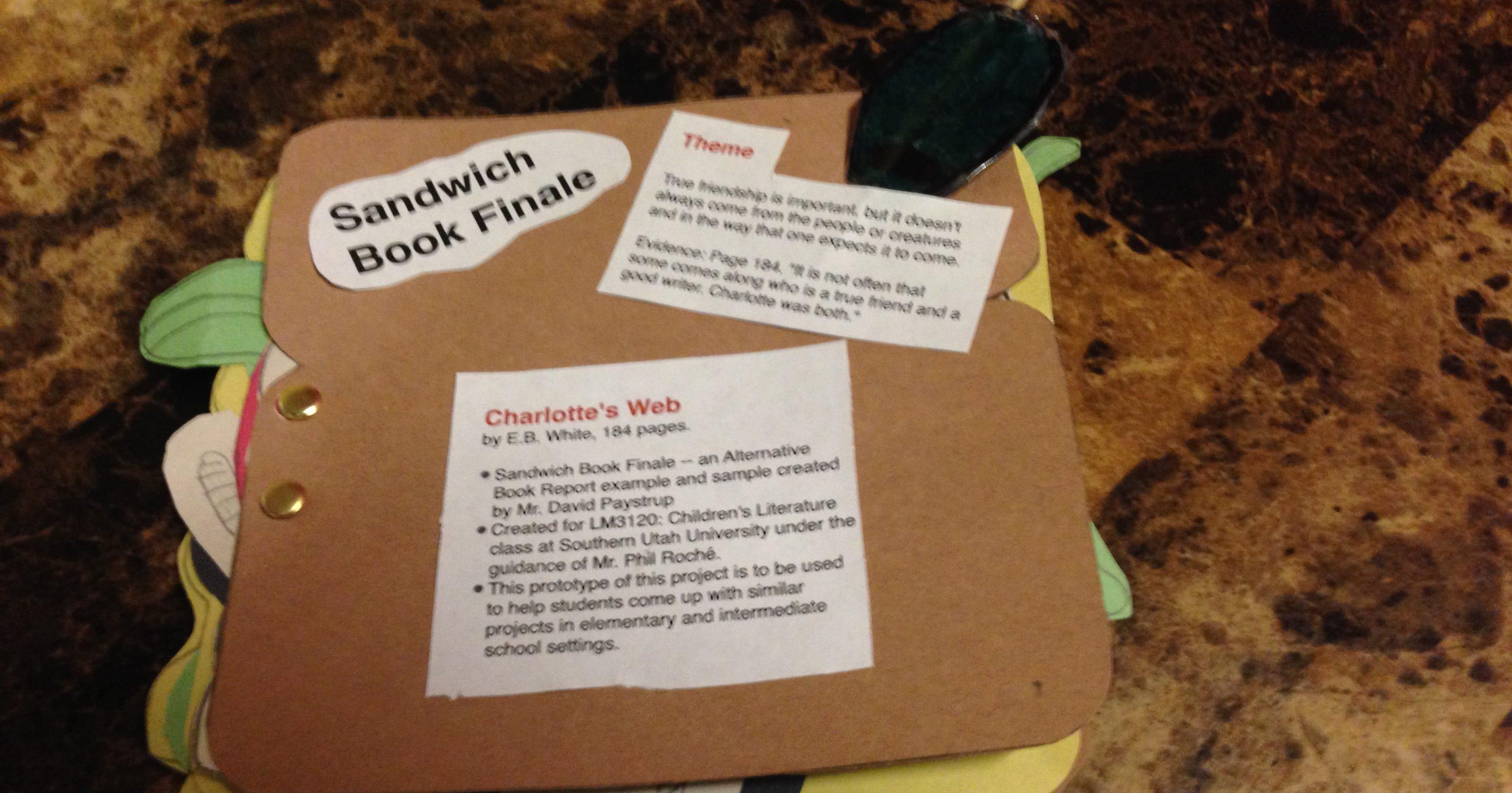 Makeitmonday how to make a sandwich style book report makeitmonday how to make a sandwich style book report maxwellsz