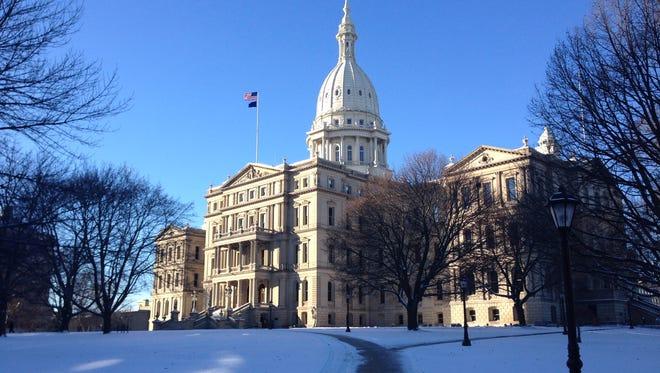 Michigan's Capitol building.