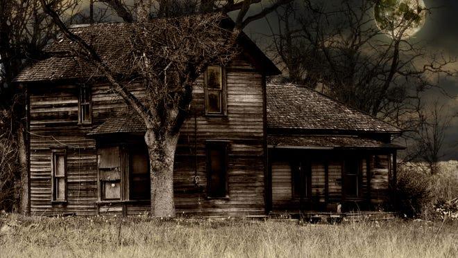 Old Run-down Haunted Farm House - Historical Site