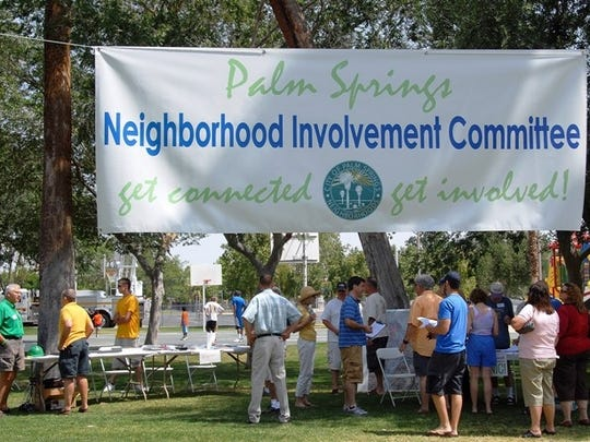 The Palm Springs Neighborhood Involvement Committee's hosted its first city-wide picnic at Ruth Hardy Park in 2008. ONE-PS is the successor to that original organization.