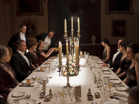 A recreation of the Crawley dining room will be featured