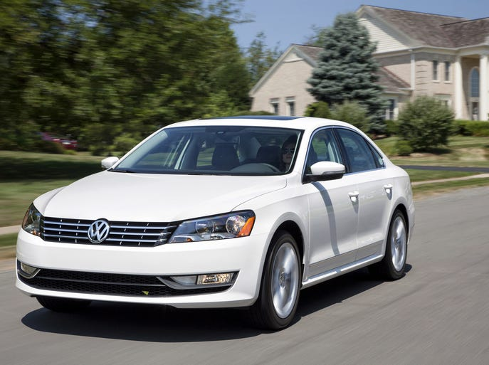 The Volkswagen Passat.